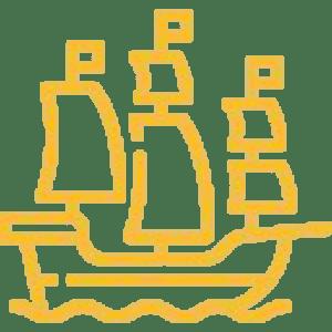 ikona dużego statku